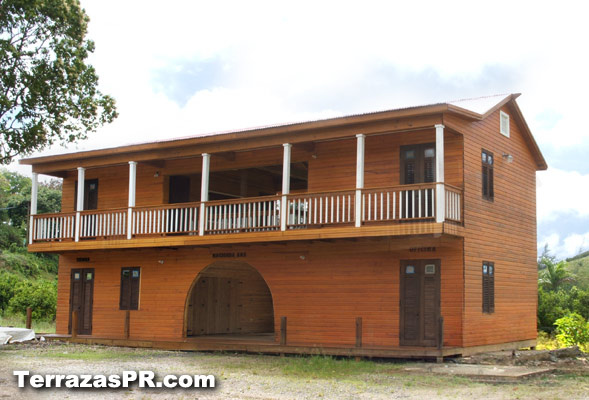 Terrazas puerto rico - Casas de madera en alcorcon ...